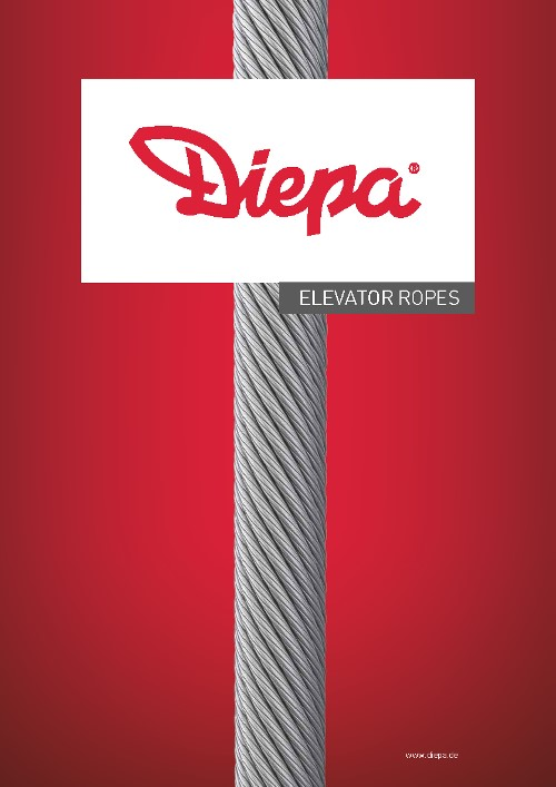DIEPA Elevator Rope - Catalogue english 2017